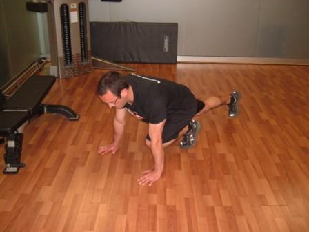 Circuit Training Single Leg Exercie
